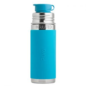 Gourde Sport Inox Isotherme 260ml Pura Turquoise