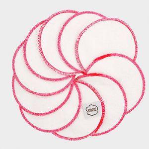 Lingettes démaquillantes lavables Imse Vimse - Contour rose
