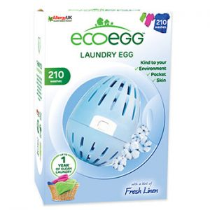 Œuf de lavage Fresh Linen EcoEgg - 210 lavages