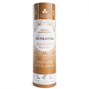 Déodorant stick Papertube Ben & Anna Indian Mandarine