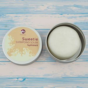 Shampoing démêlant solide Sweetie Pachamamaï - Format voyage