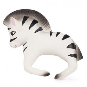 Bracelet anneau de dentition Oli & Carol - Zebra