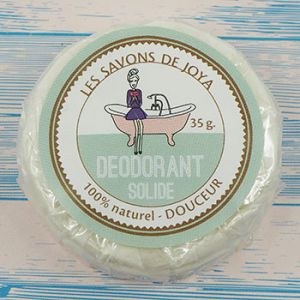 Recharge déodorant solide sans bicarbonate Les savons de Joya
