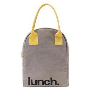 Sac pour repas zippé en coton bio Fluf - Lunch