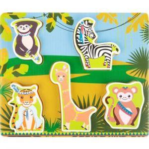 Puzzle en bois Jungle Legler