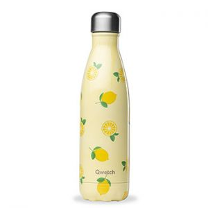 Bouteille isotherme Qwetch 500ml - Lemon
