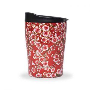 Mug isotherme Qwetch 240ml - Flowers