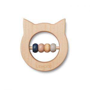 Anneau de dentition en bois Liewood - Chat