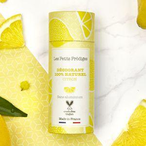 Déodorant solide Les Petits Prödiges Citron & Bergamote