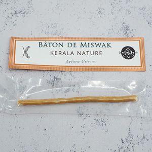 Bâton de Miswak - brosse à dents naturelle Arôme citron