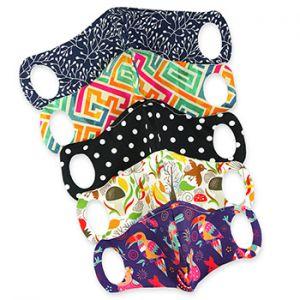 Masques de protection réutilisables Petit Lulu - Pack Famille