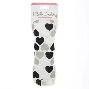 Serviette hygiénique lavable Pink Daisy stay dry Normal