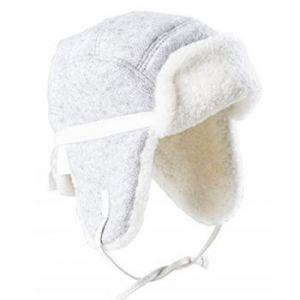 Chapka en laine & peau d'agneau Fellhof