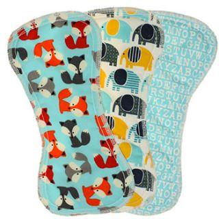 Lot de 3 inserts FeetWET Best Bottom Diaper
