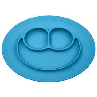 Assiette antidérapante Mini Mat EZPZ - Bleu