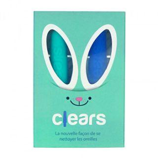 Bâtonnet d'oreilles écologique en silicone médical - Clears