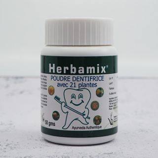 Poudre dentifrice 21 plantes Herbamix