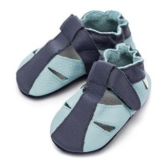 Sandales en cuir souple Liliputi Sky