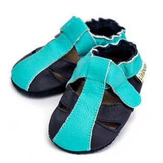 Sandales en cuir souple Liliputi Ocean Breeze