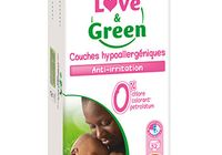 JUMBO pack Couches jetables écologiques Love & Green 3 (4-9kg)