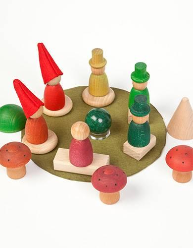 jouets libres en bois pour bébé