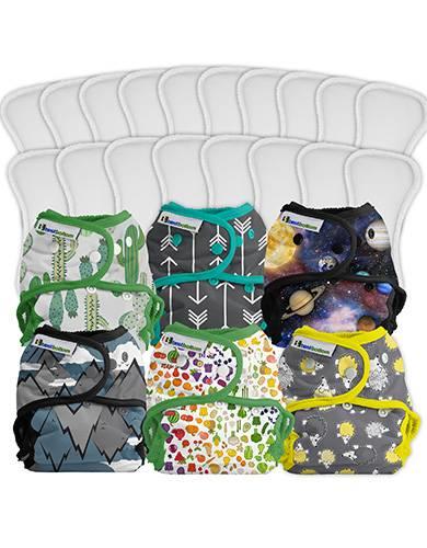 créer pack couches lavables personnalisé